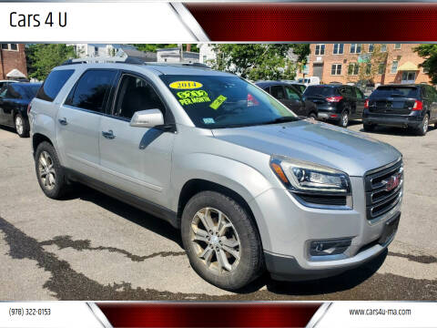 2014 GMC Acadia for sale at Cars 4 U in Haverhill MA
