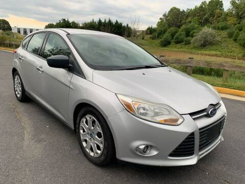 2012 Ford Focus for sale at Dulles Cars in Sterling VA