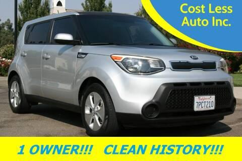 2015 Kia Soul for sale at Cost Less Auto Inc. in Rocklin CA