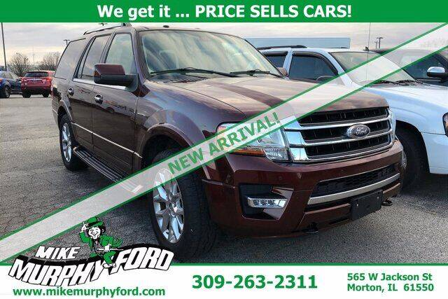2015 Ford Expedition for sale at Mike Murphy Ford in Morton IL