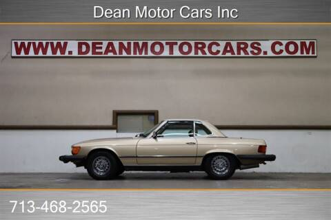 1982 Mercedes-Benz 380-Class for sale at Dean Motor Cars Inc in Houston TX
