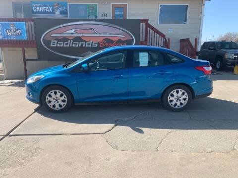 2012 Ford Focus for sale at Badlands Brokers in Rapid City SD
