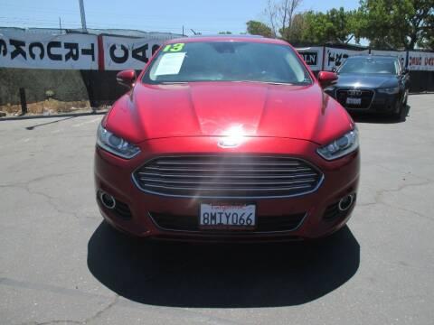 2013 Ford Fusion for sale at Quick Auto Sales in Modesto CA