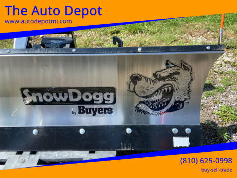 Snow Dog Plow    others also New  others also for sale at The Auto Depot in Mount Morris MI