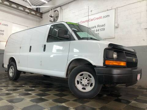 2015 Chevrolet Express Cargo for sale at County Car Credit in Cleveland OH