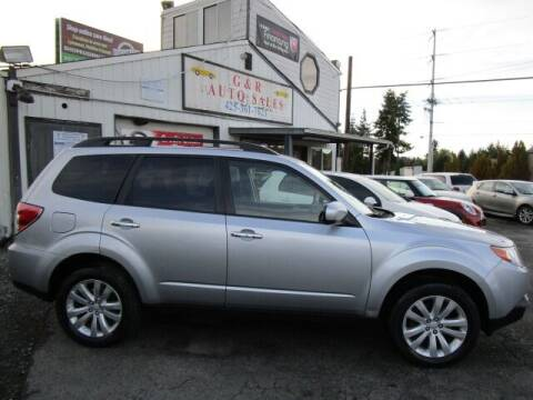 2012 Subaru Forester for sale at G&R Auto Sales in Lynnwood WA