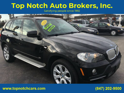 2008 BMW X5 for sale at Top Notch Auto Brokers, Inc. in Palatine IL