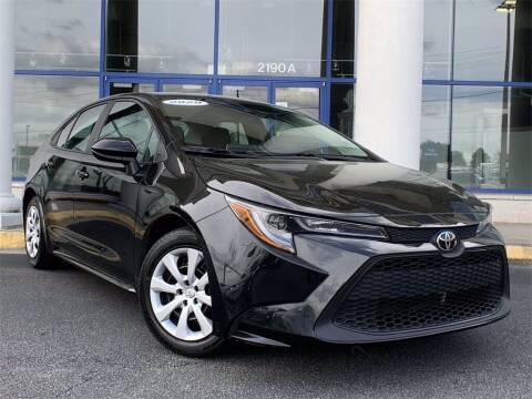 2020 Toyota Corolla for sale at Capital Cadillac of Atlanta in Smyrna GA