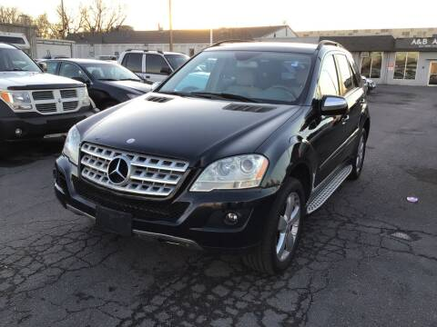 2009 Mercedes-Benz M-Class for sale at A & B Auto in Lakewood CO