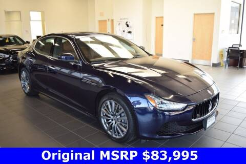 2017 Maserati Ghibli for sale at BMW OF NEWPORT in Middletown RI
