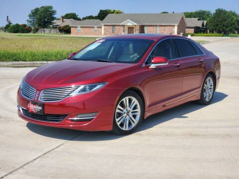 2014 Lincoln MKZ for sale at Chihuahua Auto Sales in Perryton TX