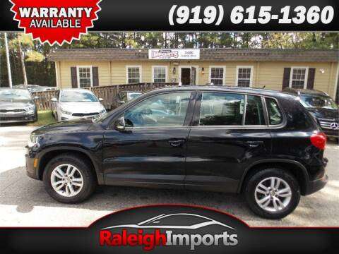 2013 Volkswagen Tiguan for sale at Raleigh Imports in Raleigh NC