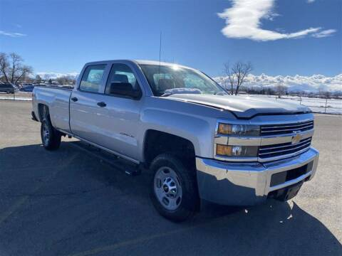 2015 Chevrolet Silverado 2500HD for sale at Shamrock Group LLC #1 in Pleasant Grove UT