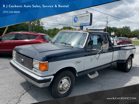1988 Ford F-350 for sale at R J Cackovic Auto Sales, Service & Rental in Harrisburg PA