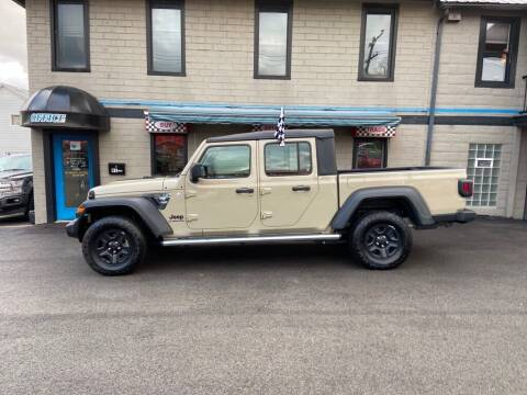 2020 Jeep Gladiator for sale at Sisson Pre-Owned in Uniontown PA