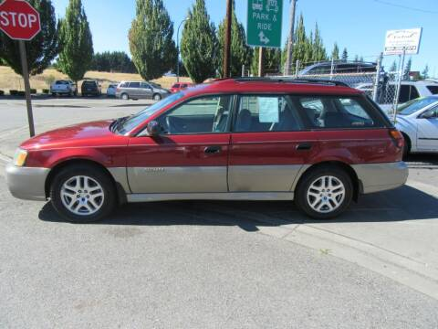 2003 Subaru Outback for sale at Car Link Auto Sales LLC in Marysville WA