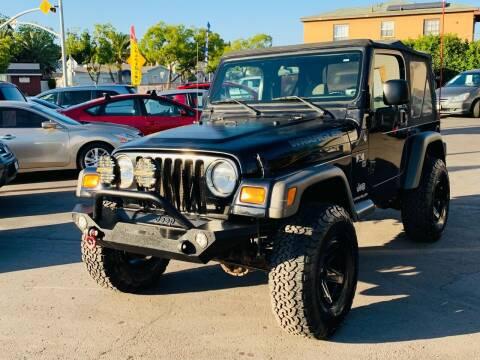2006 Jeep Wrangler for sale at MotorMax in Lemon Grove CA