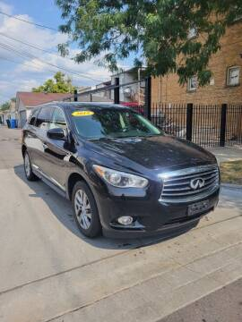 2015 Infiniti QX60 for sale at MACK'S MOTOR SALES in Chicago IL