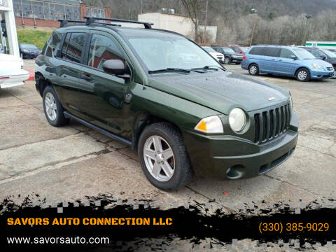 2007 Jeep Compass for sale at SAVORS AUTO CONNECTION LLC in East Liverpool OH