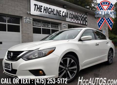 2016 Nissan Altima for sale at The Highline Car Connection in Waterbury CT