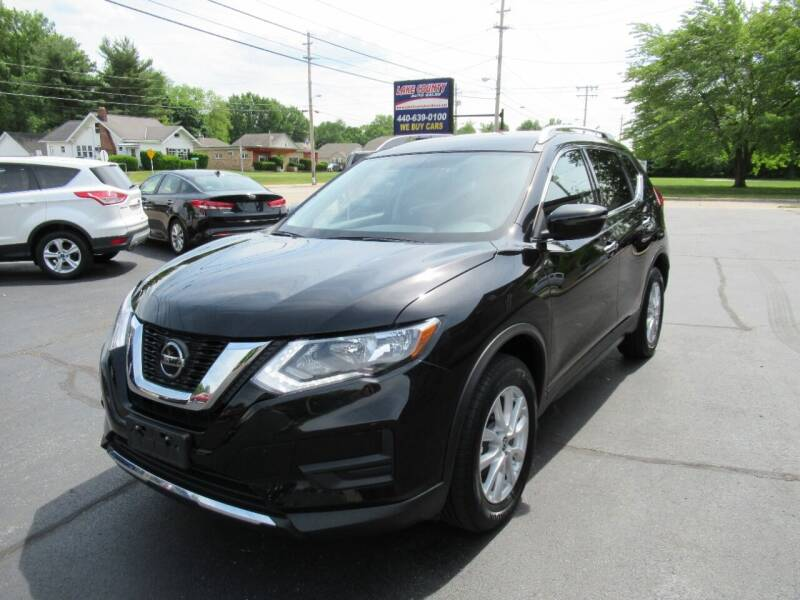 2018 Nissan Rogue for sale at Lake County Auto Sales in Painesville OH