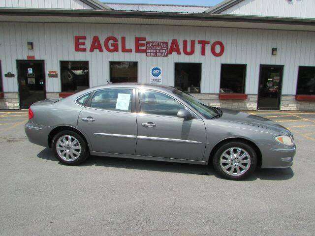 2008 Buick LaCrosse for sale at Eagle Auto Center in Seneca Falls NY