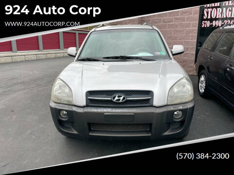2006 Hyundai Tucson for sale at 924 Auto Corp in Sheppton PA