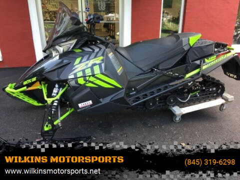 2017 Arctic Cat ZR8000 Limited ES 129 for sale at WILKINS MOTORSPORTS in Brewster NY