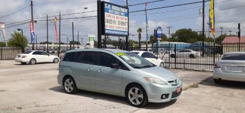 2007 Mazda MAZDA5 for sale at S.A. BROADWAY MOTORS INC in San Antonio TX