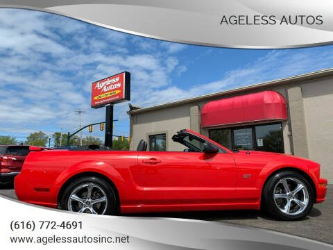 2005 Ford Mustang for sale at Ageless Autos in Zeeland MI