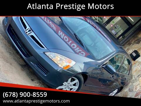2007 Honda Accord for sale at Atlanta Prestige Motors in Decatur GA