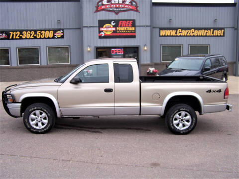 2003 Dodge Dakota for sale at CarzCentral in Estherville IA