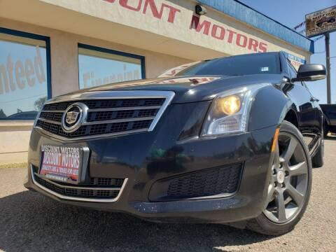 2014 Cadillac ATS for sale at Discount Motors in Pueblo CO