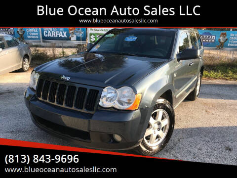 2008 Jeep Grand Cherokee for sale at Blue Ocean Auto Sales LLC in Tampa FL