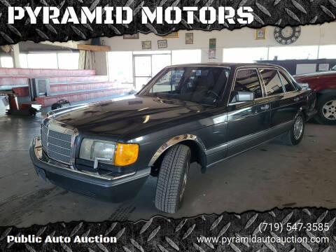 1991 Mercedes-Benz 420-Class for sale at PYRAMID MOTORS - Pueblo Lot in Pueblo CO