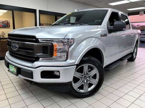 2018 Ford F-150 for sale at SAINT CHARLES MOTORCARS in Saint Charles IL