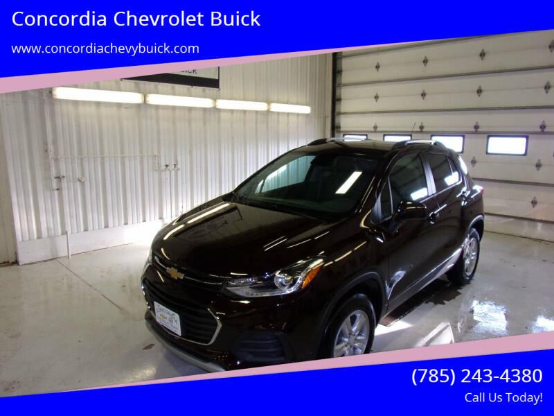 2021 Chevrolet Trax for sale at Concordia Chevrolet Buick in Concordia KS