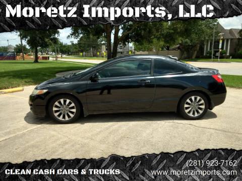 2011 Honda Civic for sale at Moretz Imports, LLC in Spring TX