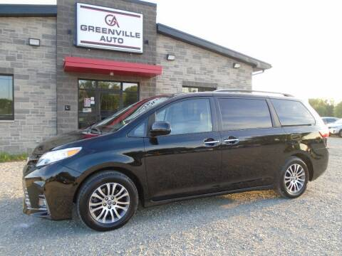 2020 Toyota Sienna for sale at GREENVILLE AUTO & RV in Greenville WI