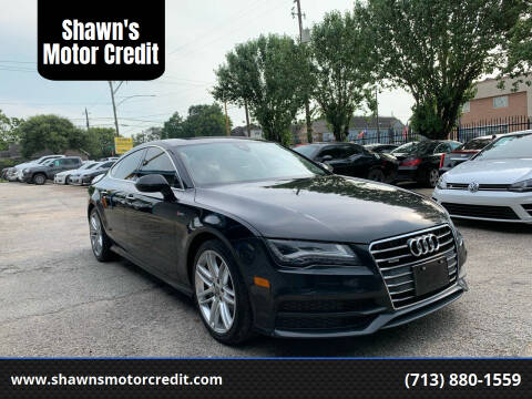 2015 Audi A7 for sale at Shawn's Motor Credit in Houston TX