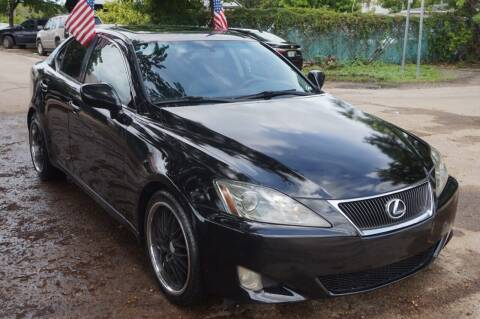 2006 Lexus IS 250 for sale at SUPER DEAL MOTORS 441 in Hollywood FL