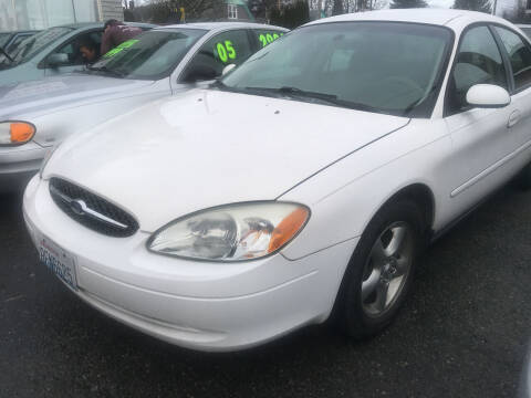 2001 Ford Taurus for sale at American Dream Motors in Everett WA