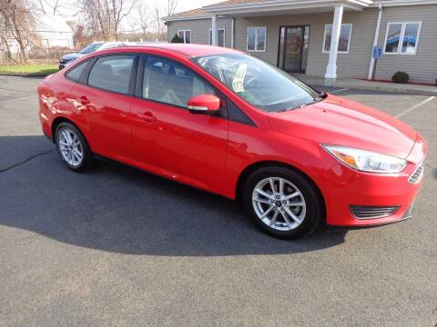 2017 Ford Focus for sale at BETTER BUYS AUTO INC in East Windsor CT