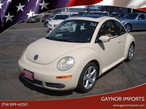 2007 Volkswagen New Beetle for sale at Gaynor Imports in Stanton CA