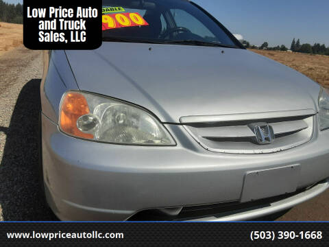 2001 Honda Civic for sale at Low Price Auto and Truck Sales, LLC in Salem OR