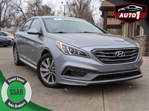 2017 Hyundai Sonata for sale at Street Smart Auto Brokers in Colorado Springs CO