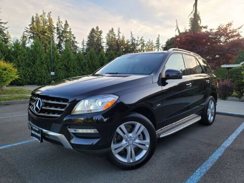 2012 Mercedes-Benz M-Class for sale at Silver Star Auto in Lynnwood WA