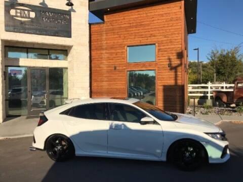 2017 Honda Civic for sale at Hamilton Motors in Lehi UT