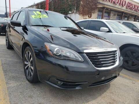 2014 Chrysler 200 for sale at USA Auto Brokers in Houston TX