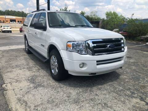2008 Ford Expedition EL for sale at Atlas Auto Sales in Smyrna GA